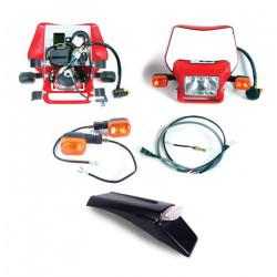 Dual Sport Kit, EZ Mount Kick LED, Red