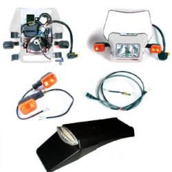 Dual Sport Kit, EZ Mount Kick LED, White