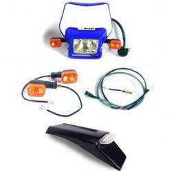 Dual Sport Kit, EZ Mount Husky/Husaberg E-Start, Blue