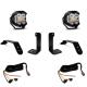 Jeep JL/JT Dual LP4 Auxiliary Light Kit w/Upfitter Baja Designs