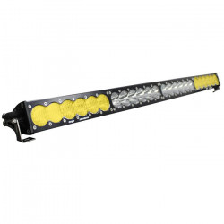 40 Inch LED Light Bar Amber/White Dual Control Pattern OnX6 Series Baja Designs