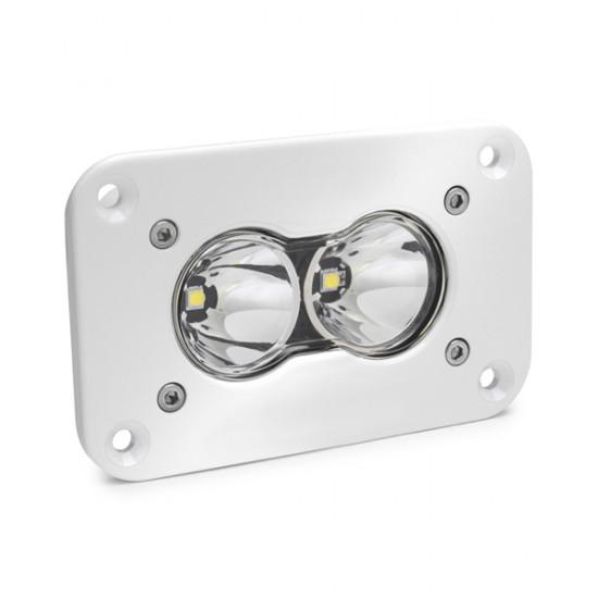 LED Work Light Flush Mount Clear Lens Work/Scene Pattern White S2 Pro Baja Designs