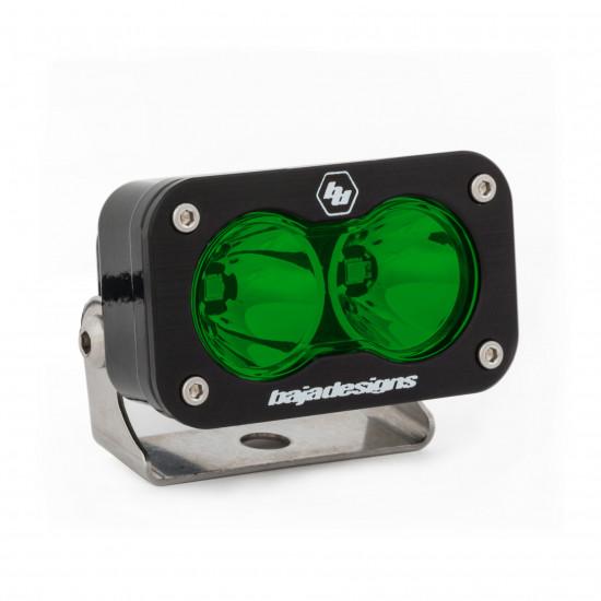 S2 Pro, LED Spot, Green