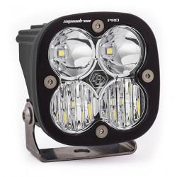 LED Light Pod Black Clear Lens Driving/Combo Pattern Squadron Pro Baja Designs