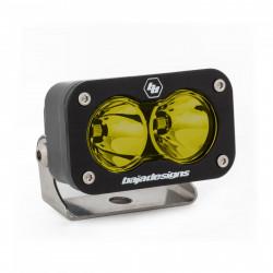 LED Work Light Amber Lens Spot Pattern Each S2 Sport Baja Designs