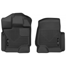 Husky 2017 FORD F-150 X-ACT CONTOUR® RUBBER FLOOR MATS - Front