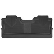 Husky 2017 FORD F-150 X-ACT CONTOUR® RUBBER FLOOR MATS - Crew Cab - Rear - Footwell only