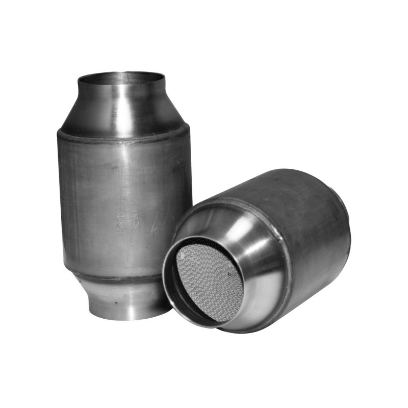 Stainless Steel High Flow Catalytic Converter 3 Inch Inletoutlet X 75 Long Body: Steel Catalytic Converter At Woreks.co